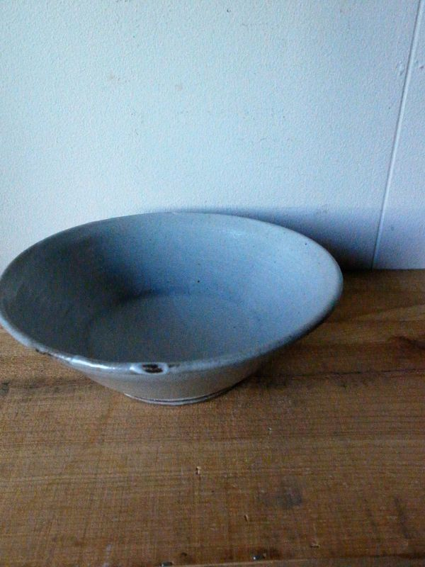 画像1: 寺村光輔 泥並釉 7.5寸鉢