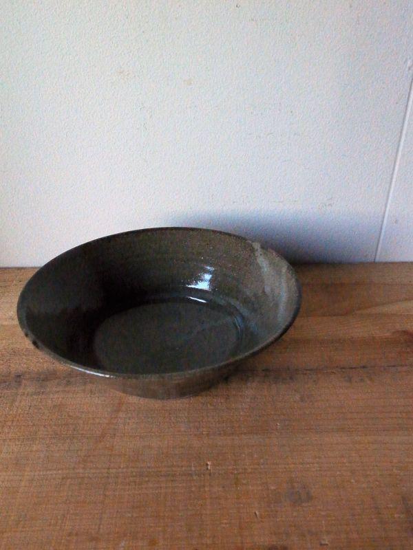画像1: 寺村光輔 長石釉 6.5寸浅鉢