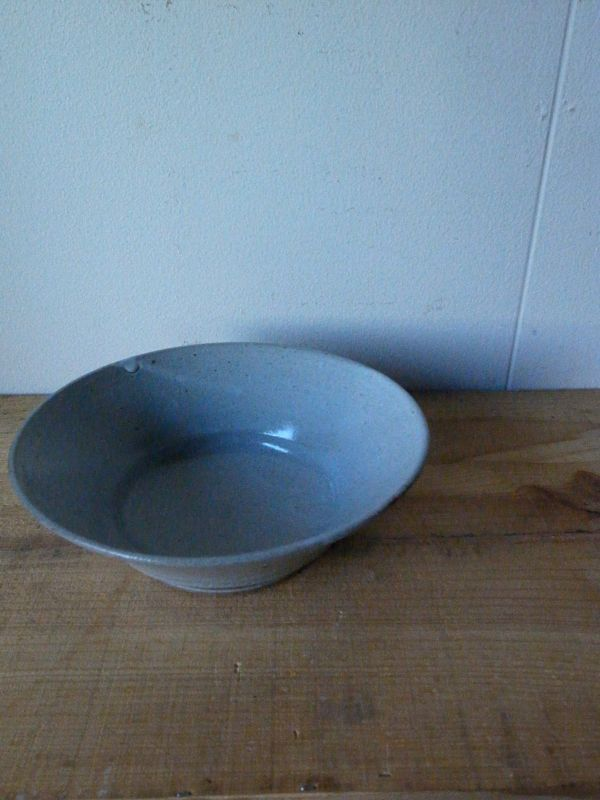 画像1: 寺村光輔 泥並釉 6.5寸浅鉢