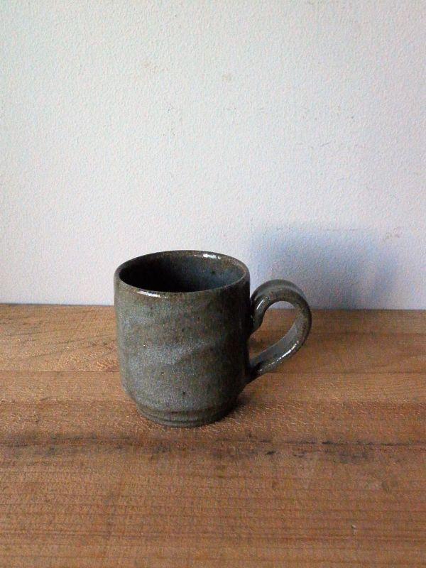 画像1: 寺村光輔 長石釉 マグカップ