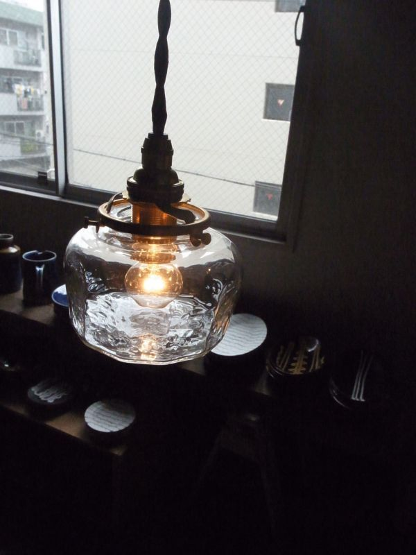 画像1: 安土草多 ペンダントランプ