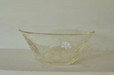 画像1: 石川硝子工藝舎 面取り鉢(大)