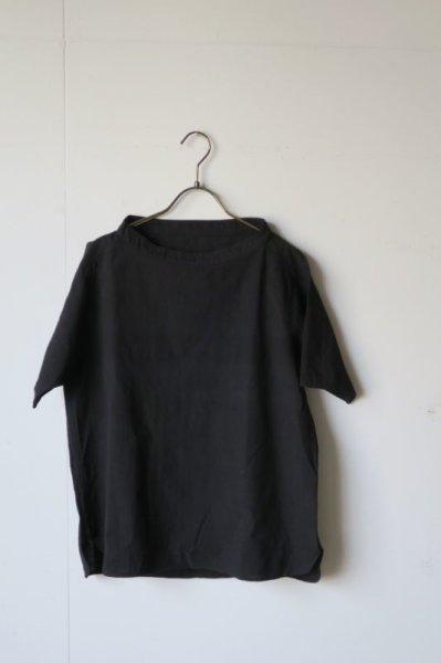 画像1: MITTAN   プルオーバー小 黒 サイズ1 (1)