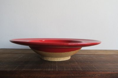 画像2: 陶器工房 壹 mintama リム7寸皿