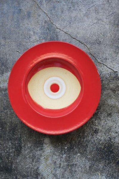 画像1: 陶器工房 壹 mintama リム7寸皿 (1)