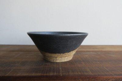 画像2: 陶器工房 壹 WAKUTA 4寸マカイ ブラック