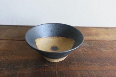 画像1: 陶器工房 壹 WAKUTA 4寸マカイ ブラック