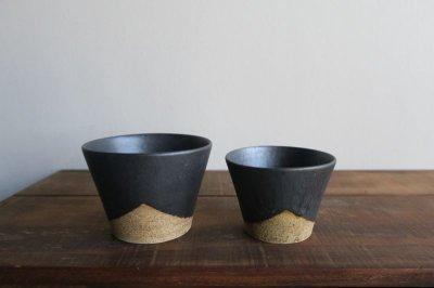 画像2: 陶器工房 壹 mintama カップ小 ブラック