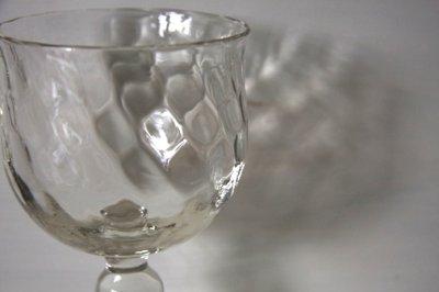 画像2: 石川硝子工藝舎 網目ワイングラス