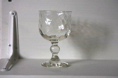 画像1: 石川硝子工藝舎 網目ワイングラス