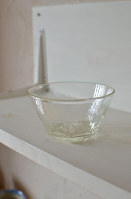 画像1: 石川硝子工藝舎 面取り鉢(小)