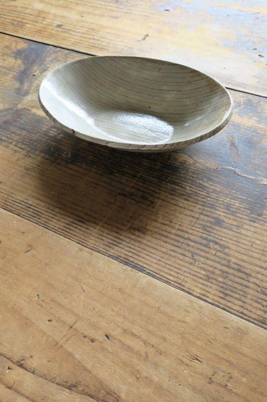 画像1: 牧谷窯 杉本義訓 練りこみ楕円鉢