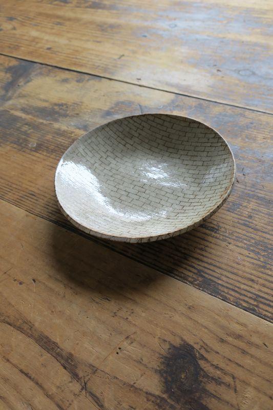 画像1: 牧谷窯 杉本義訓 練りこみ六寸皿