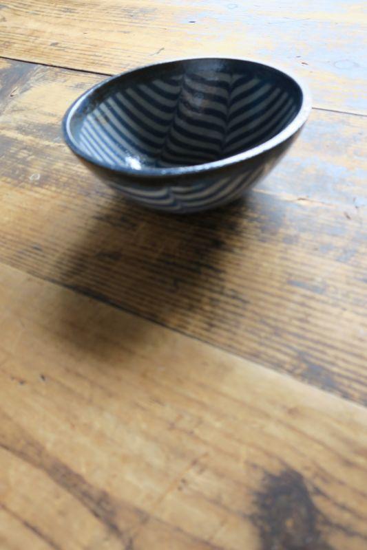 画像1: 牧谷窯 杉本義訓 練りこみ鉢