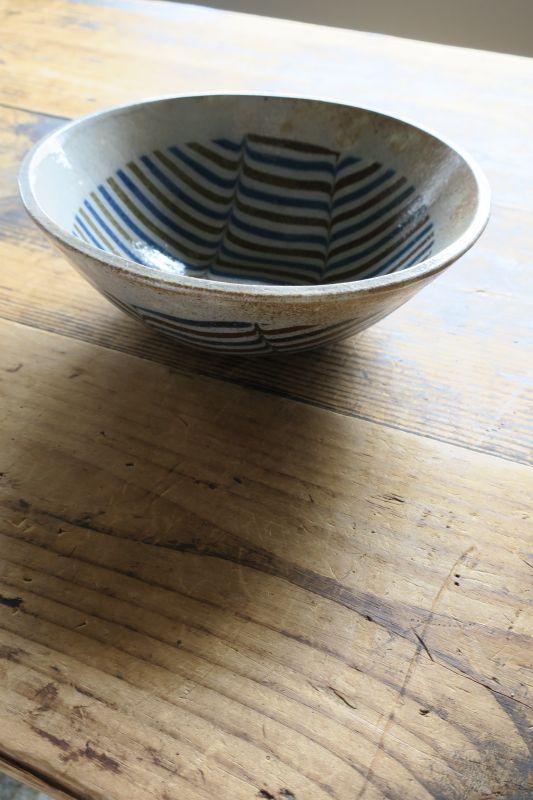 画像1: 牧谷窯 杉本義訓 練りこみ7.5寸鉢