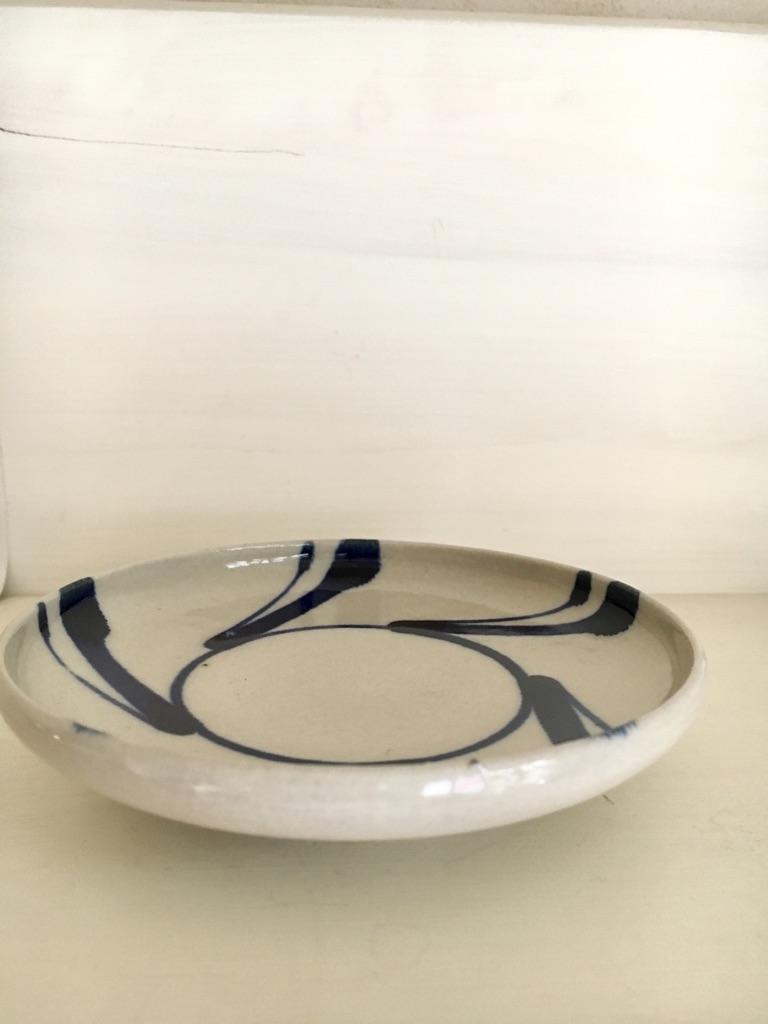 画像1: 陶器工房 壹 松葉 四寸皿