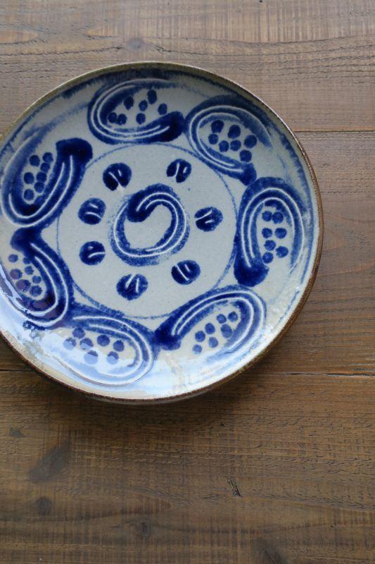 画像1: 室生窯 八寸皿