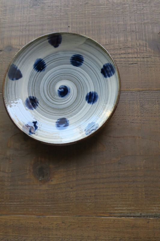 画像1: 室生窯 六寸皿