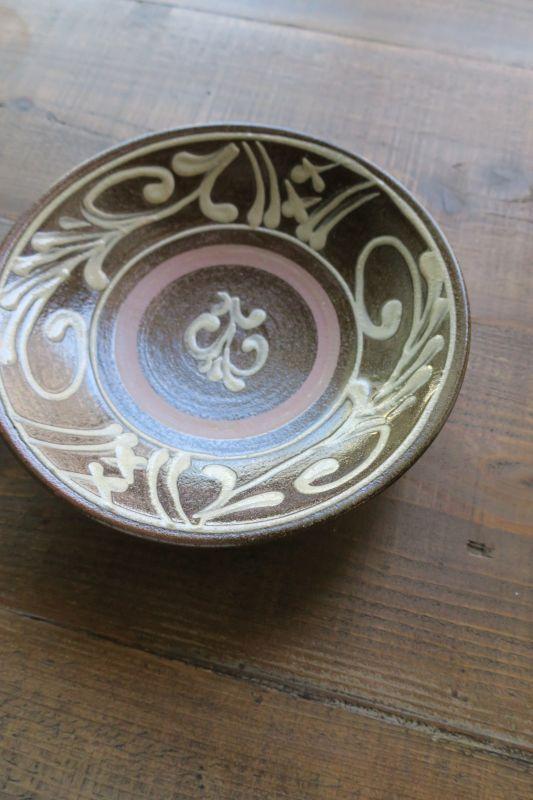 画像1: 田村窯 七寸皿