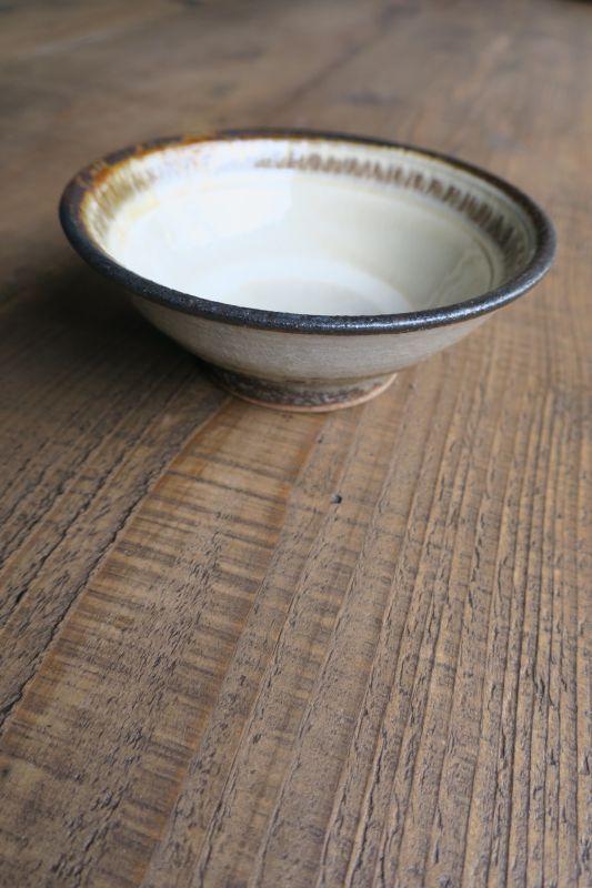画像1: 小代焼ふもと窯 4寸鉢
