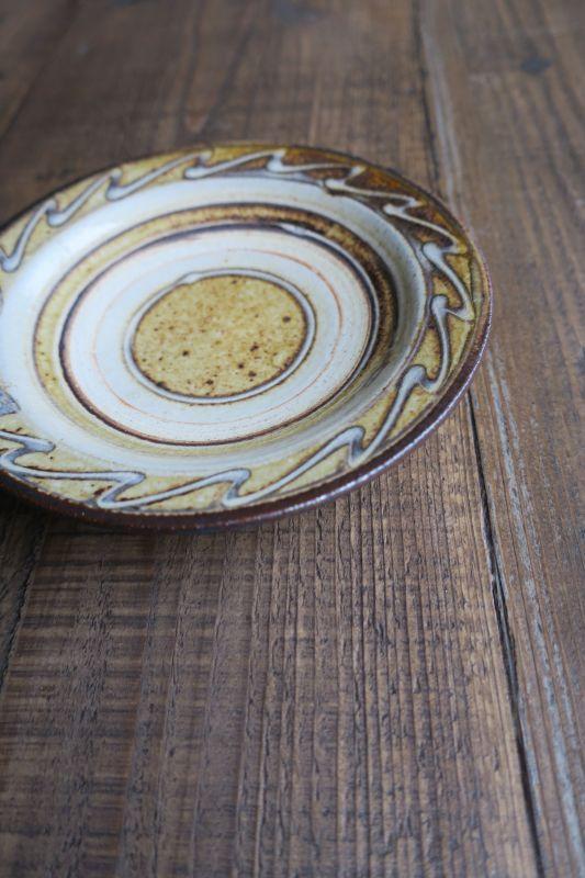 画像1: 小代焼ふもと窯 5寸皿