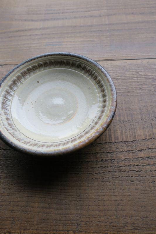 画像1: 小代焼ふもと窯 4寸皿