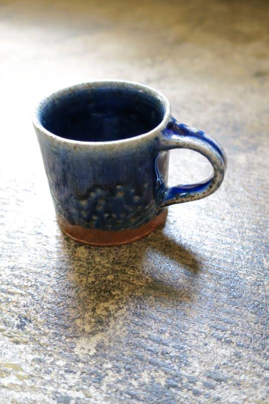 画像1: つくも窯・十場天伸 薪窯デミタスカップ