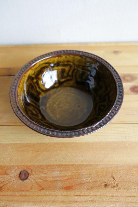 画像1: 掛谷康樹 練上手鉢(5寸)