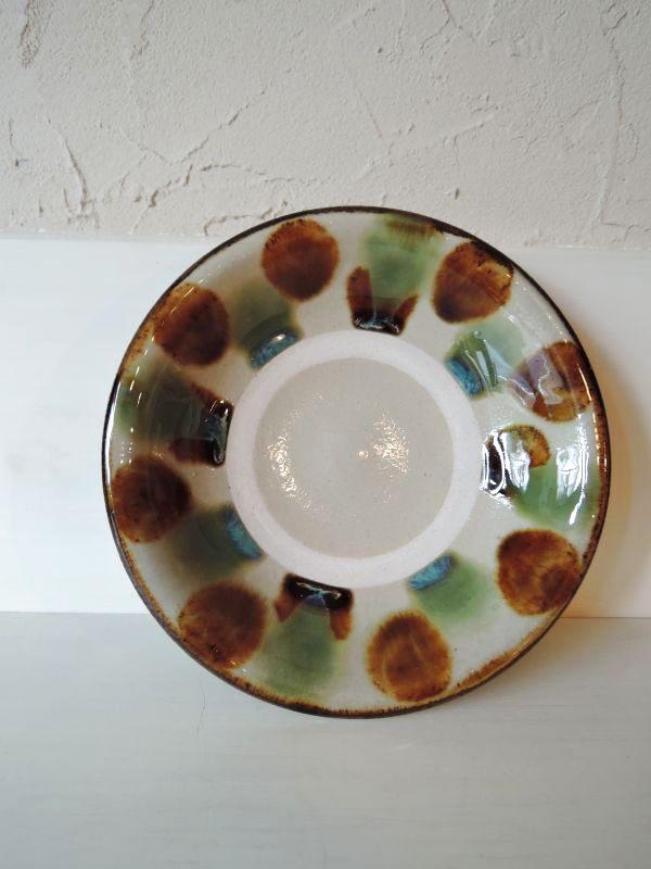 画像1: なかどまり工房 登川均 六寸皿