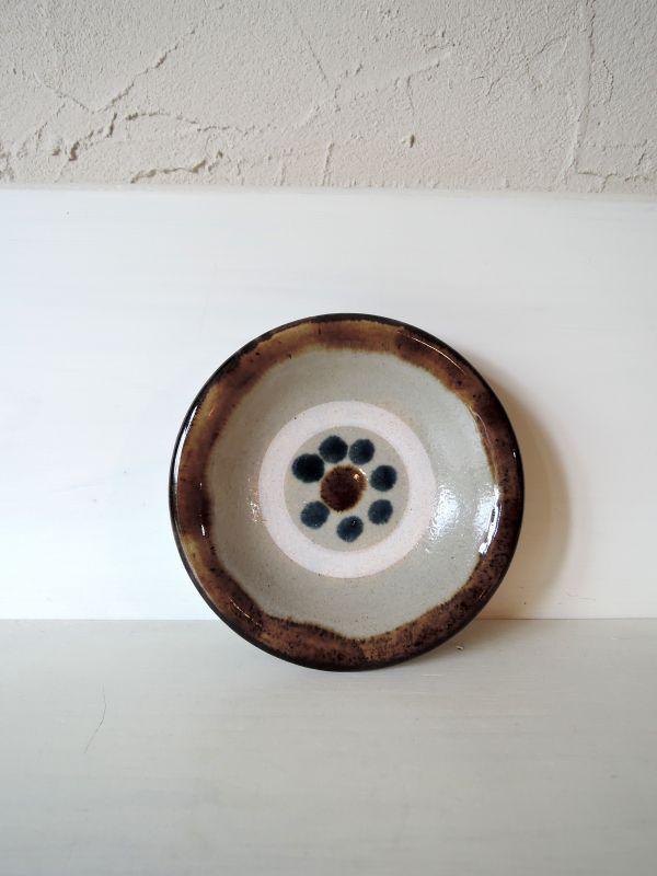 画像1: なかどまり工房 登川均 四寸皿