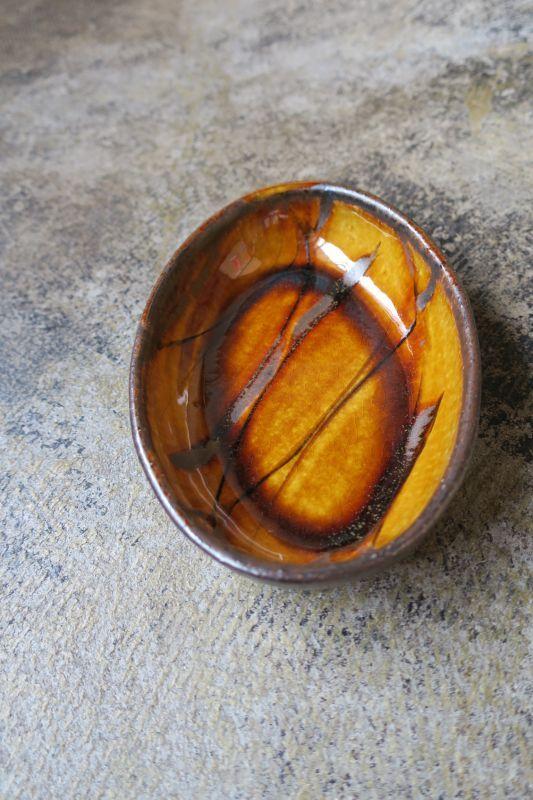 画像1: 小代焼ふもと窯 オーバル小 6