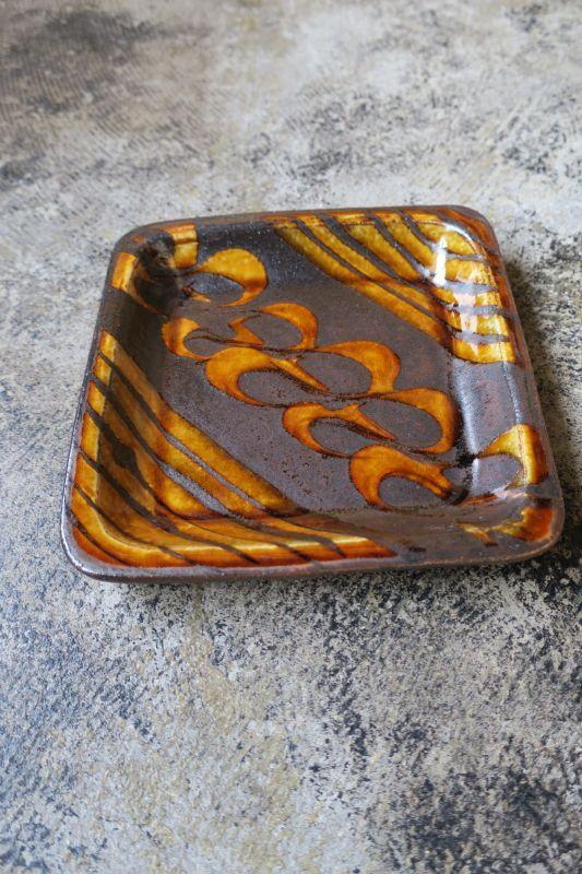 画像1: 小代焼ふもと窯 食パン皿4