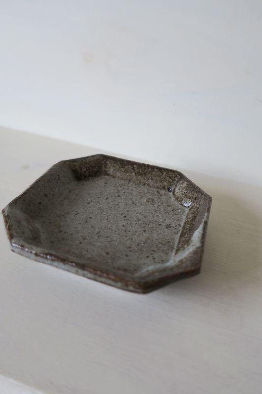 画像1: 寺村光輔 長石釉 隅入小皿