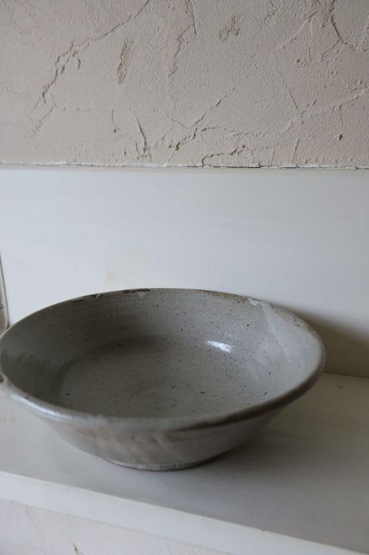 画像1: 寺村光輔 泥並釉 7寸浅鉢