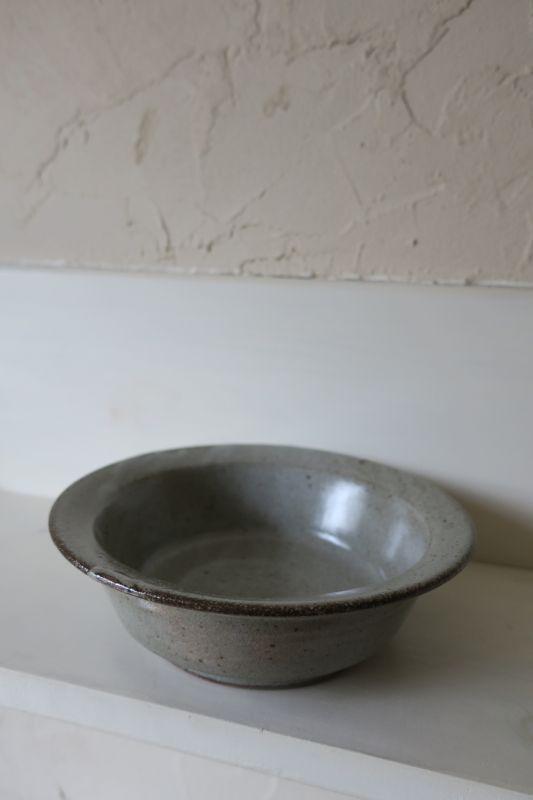 画像1: 寺村光輔 長石釉 スープ皿
