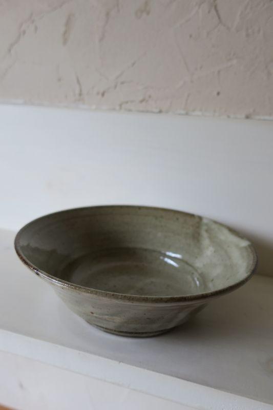 画像1: 寺村光輔 林檎灰釉 6.5寸浅鉢