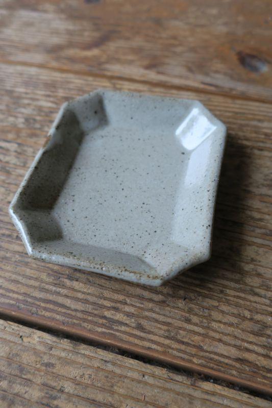 画像1: 寺村光輔 泥並釉 八角皿