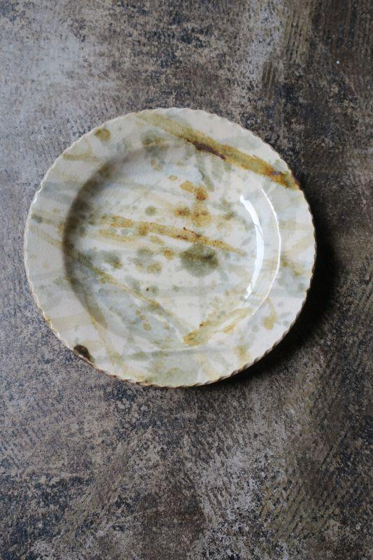 画像1: 前野直史 6寸 リム皿3