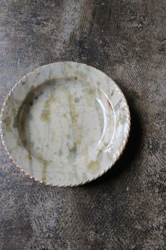 画像1: 前野直史 6寸 リム皿1