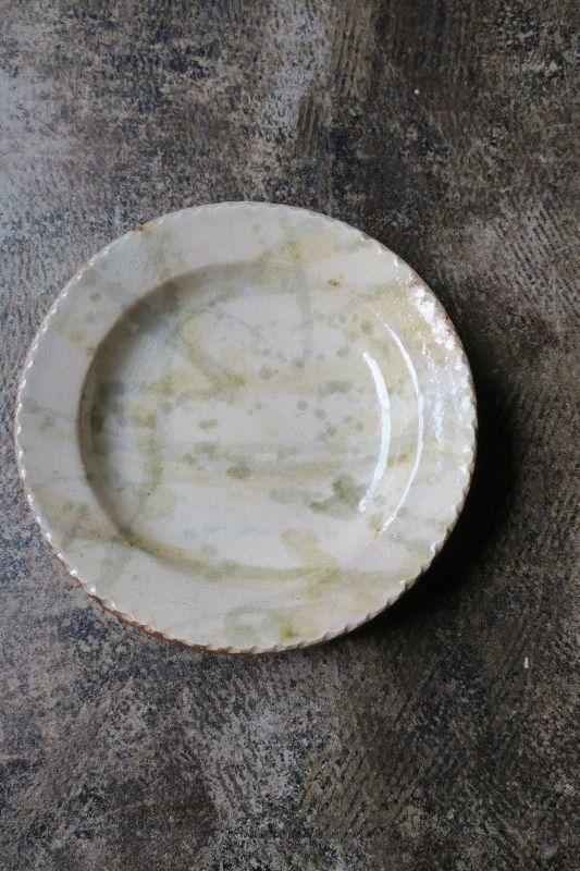 画像1: 前野直史 6寸 リム皿5