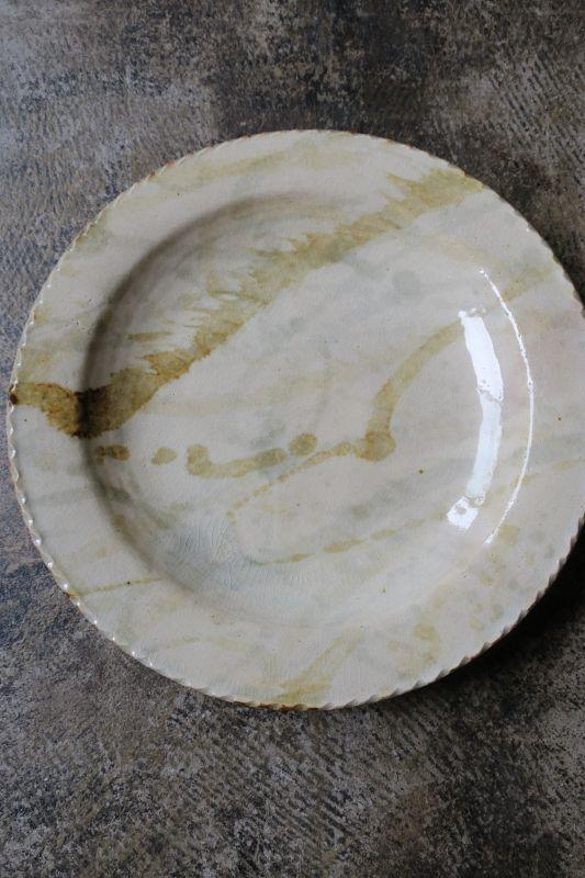 画像1: 前野直史 8寸 リム皿6