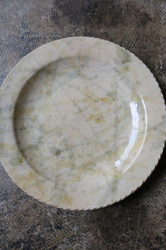 画像1: 前野直史 8寸 リム皿4