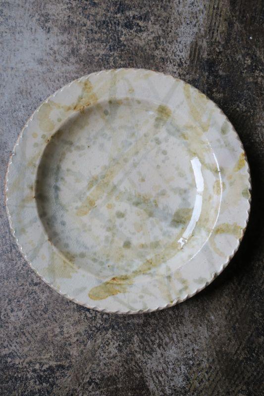 画像1: 前野直史 7寸 リム皿3