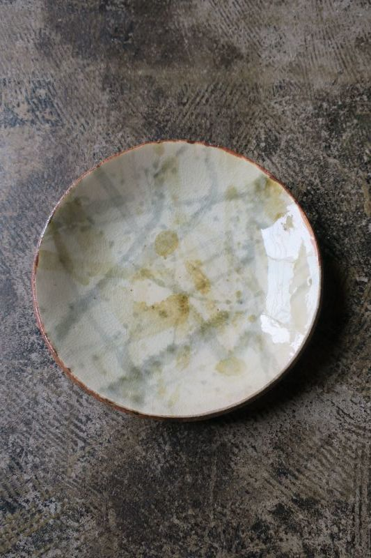 画像1: 前野直史 泥打6寸皿 1