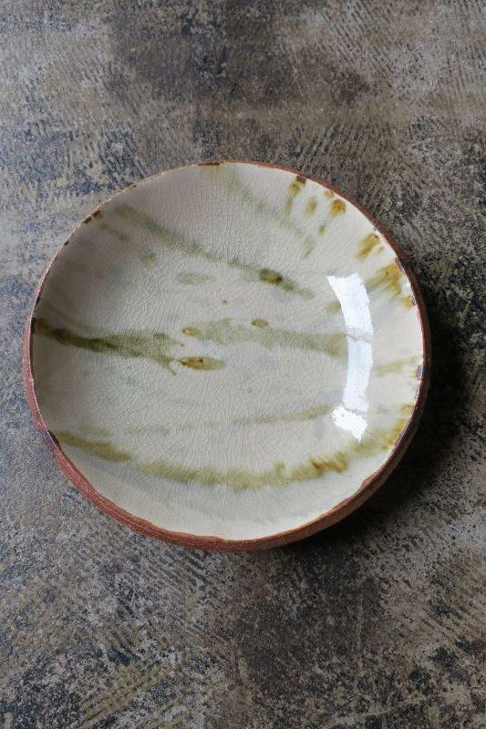 画像1: 前野直史 泥打7寸皿 2
