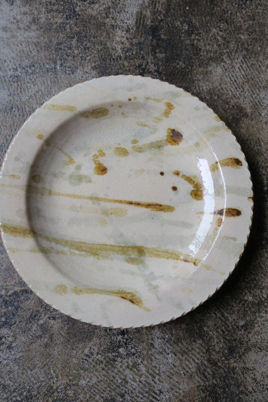 画像1: 前野直史 8寸 リム皿2