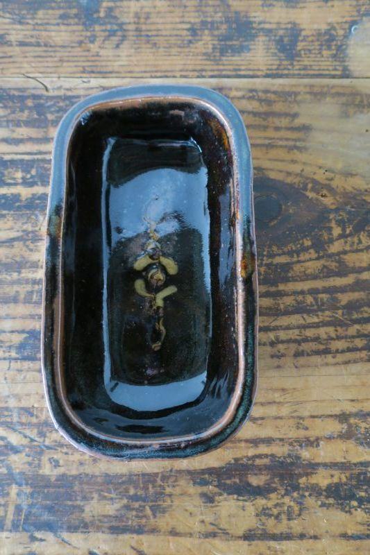 画像1: 前野直史 スリップウェア ラザニア鉢 1