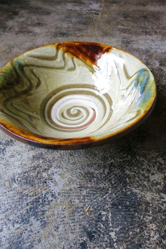 画像1: 陶藝玉城 八寸深鉢
