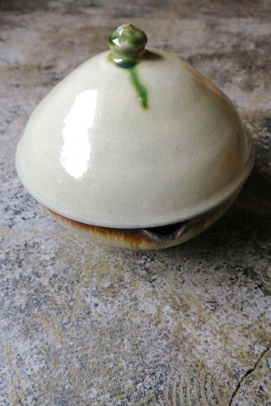 画像1: 陶藝玉城 蓋物