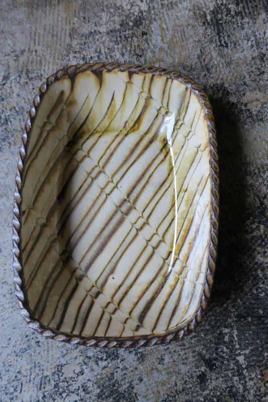 画像1: 小代焼ふもと窯 長深皿
